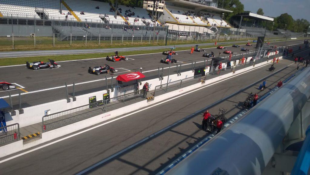 Monza - závodní okruh Formule 1