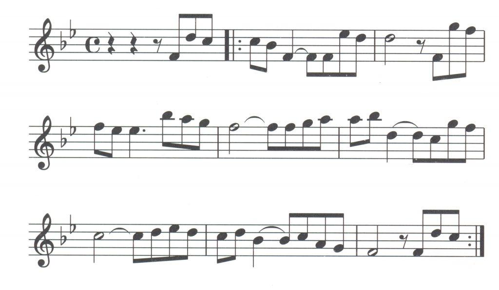 Hudební noty - Ennio Morricone