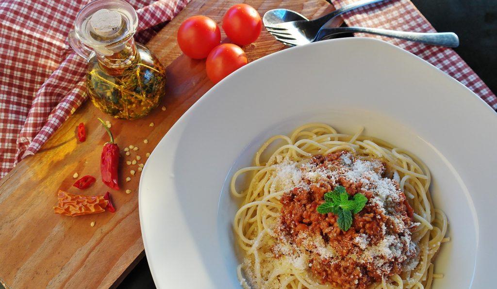 Spaghetti al ragú