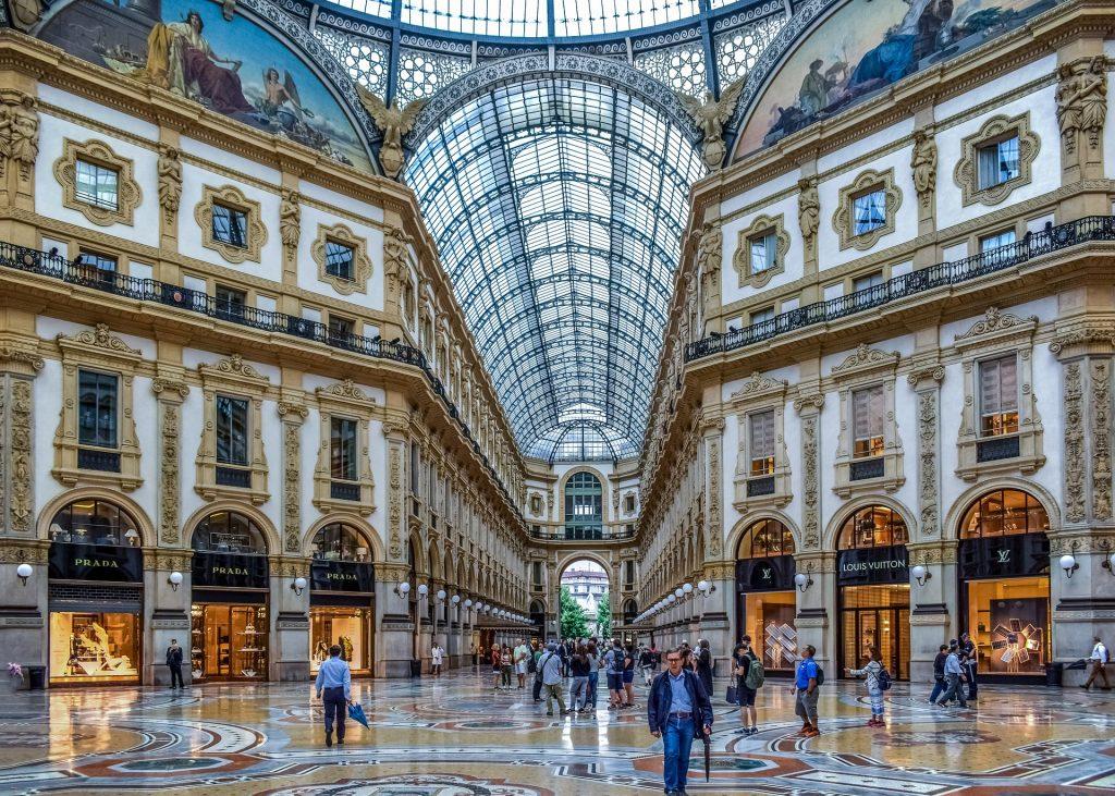 Milán - Galleria Vittorio Emanuele