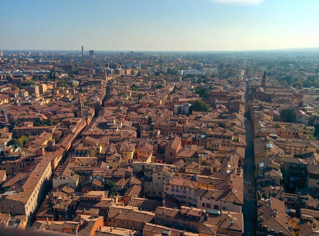 """Boloňa (Bologna) - italské """"červené město"""""""