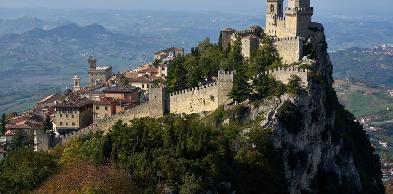 San Marino - pevnost