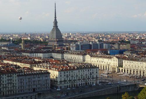 Pohled na město Turín (Torino)