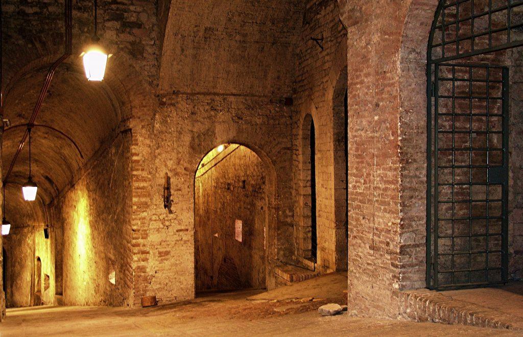 Perugia - pevnost Rocca Paolina