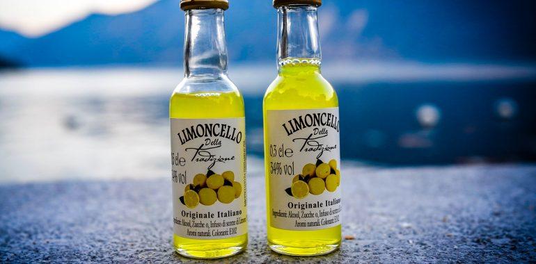 Limoncello - tradiční italský nápoj