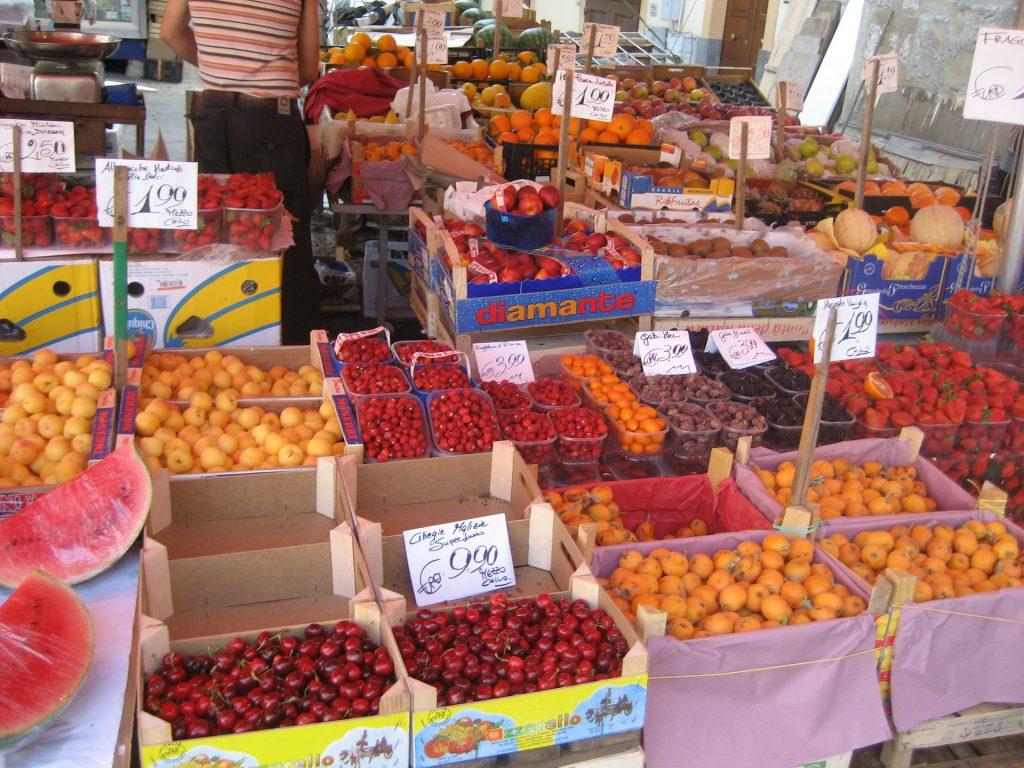 Palermo - tržiště
