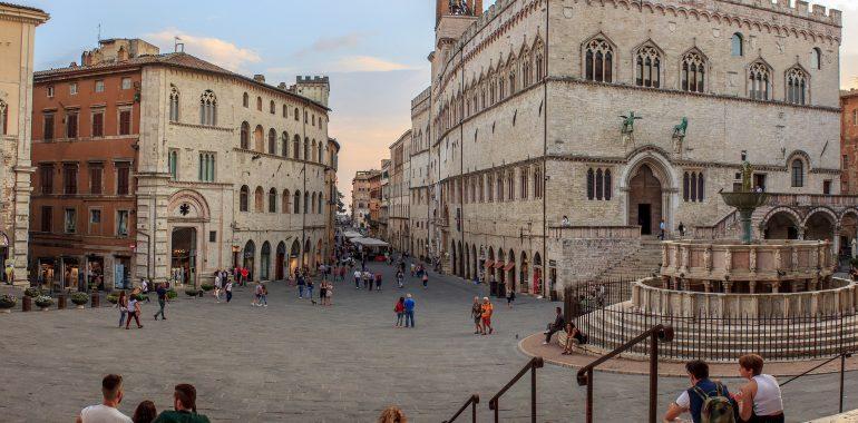 Perugia - Piazza IV Novembre