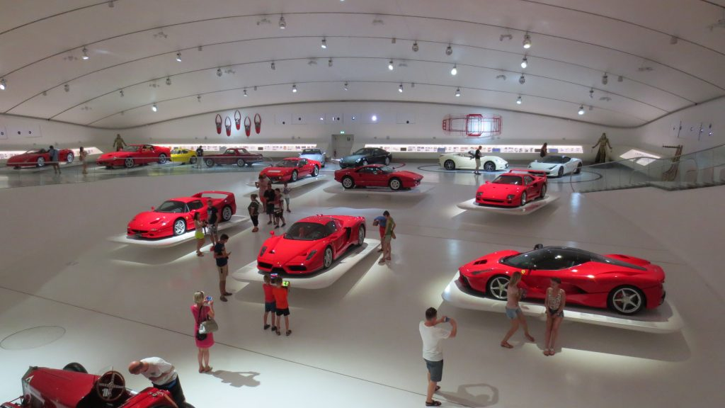 Modena - Museo Enzo Ferrari