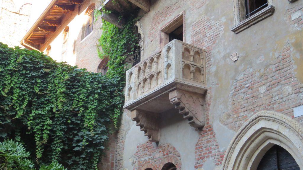 Verona - Juliin balkón