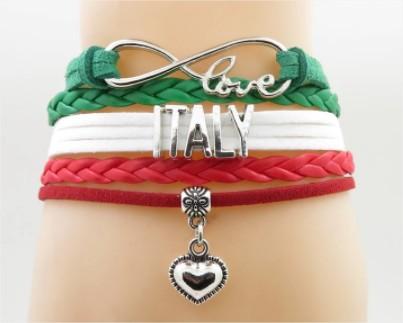 Náramek I love Italy