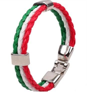 Náramek v italských barvách (trikolóra)