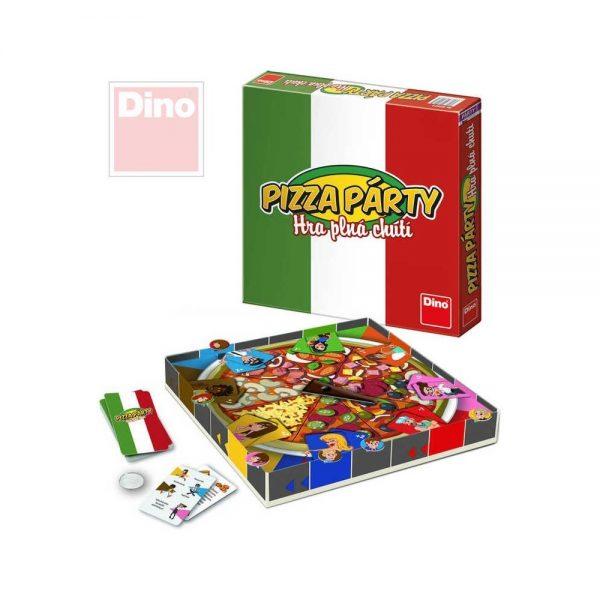 Hra Pizza párty (Dino)