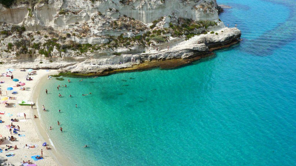 Tropea - pláž