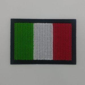 Nažehlovačka - italská vlajka (obdélníková)