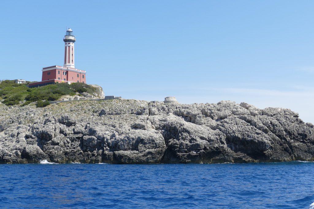 Capri - Faro di Punta Carena