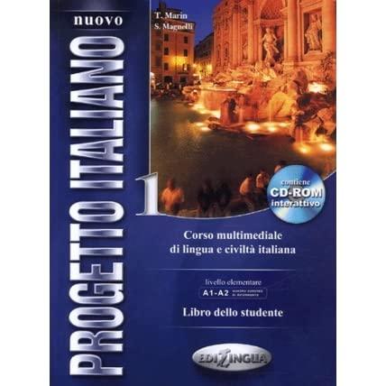 Nuovo Progetto Italiano 1 (A1 - A2) - libro dello studente + CD-ROM