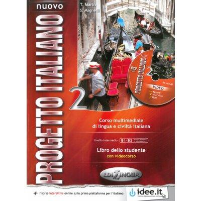 Nuovo Progetto Italiano 1 (B1 - B2) - libro dello studente + CD