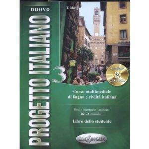 Nuovo Progetto Italiano 1 (B2 - C1) - libro dello studente + CD audio