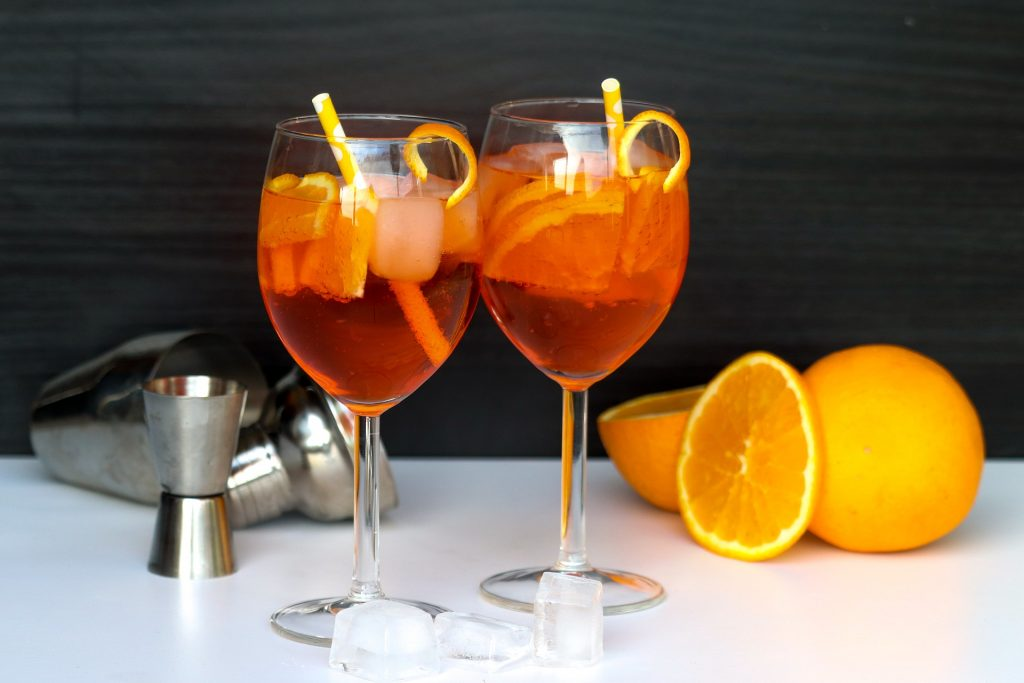Aperol Spritz - letní osvěžující koktejl