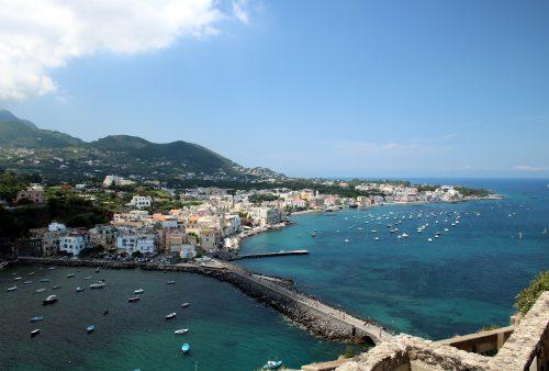 Ischia - největší ostrov v Neapolském zálivu