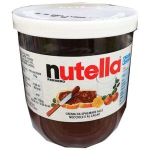 Nutella Ferrero - lískooříškovo-kakaová pomazánka