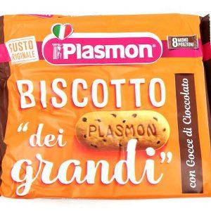 Sušenky Plasmon s kousky čokolády