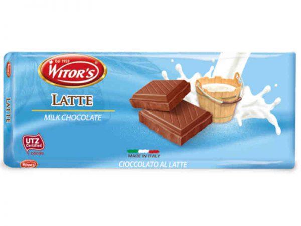 Mléčná čokoláda Witor's