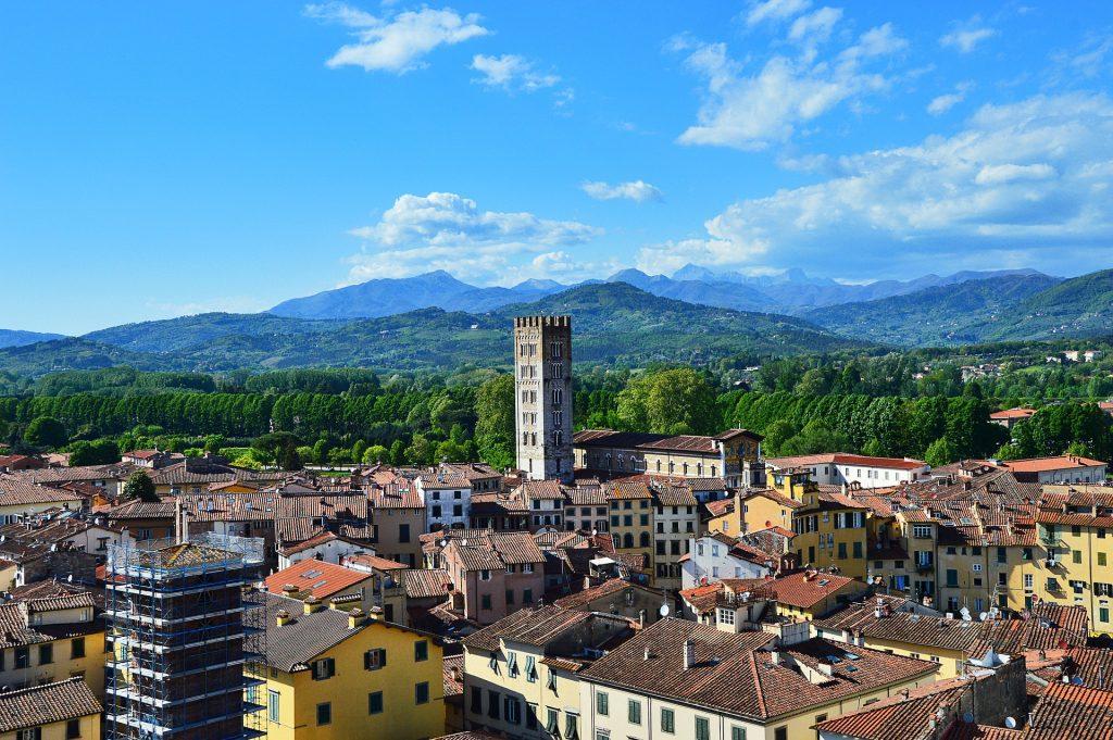 Toskánsko - Lucca