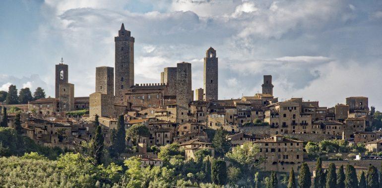 "San Gimignano - ""Toskánský Manhattan"""