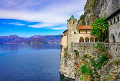 Lombardia - Santa Caterina del Sasso (Lago Maggiore)